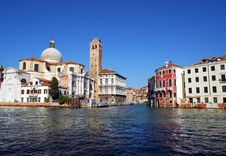 Free Venice - Grand Canal Royalty Free Stock Image - 3441216