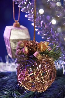 Free Christmas Decorations Stock Photos - 3441283