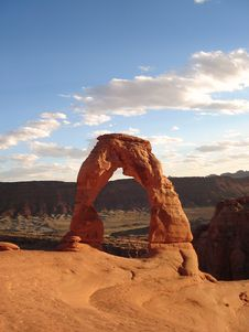 Free Delicate Arch Royalty Free Stock Photos - 3441598