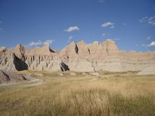 Free Badlands National Park Stock Photography - 3442012