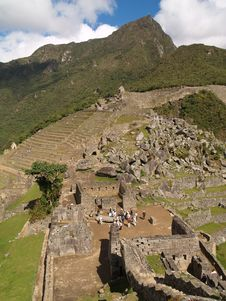 Free Machu Picchu Royalty Free Stock Photo - 3442215