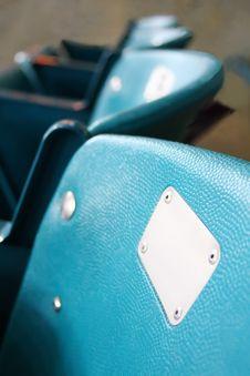 Free Row Of Stadium Seats Stock Image - 3442221