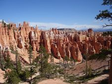 Free Hoodoos In Bryce Canyon Stock Photos - 3442253