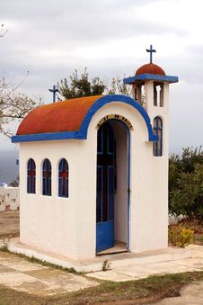 Free Little Church In Greece Stock Photo - 3442390