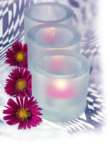 Free Pink Heaters And Flowers Royalty Free Stock Image - 3442476