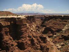 Free Buck Canyon - Canyonlands Royalty Free Stock Photography - 3442497