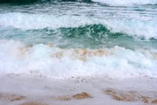 Free Big Waves In Greece Royalty Free Stock Image - 3442526