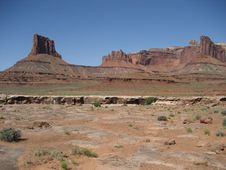 Free Canyonlands - Airport Butte Stock Photos - 3442533