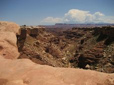 Free Canyonlands - Buck Canyon Royalty Free Stock Images - 3442539