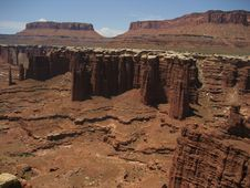 Free Monument Basin In Canyonlands Stock Images - 3442574