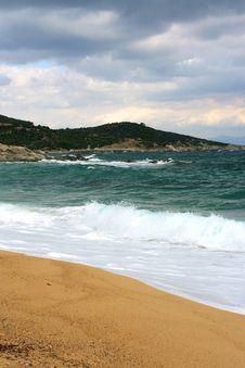 Free Big Waves In Greece Stock Photo - 3442580