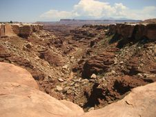Free Buck Canyon In Canyonlands Stock Photos - 3442593