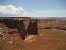 Free Monument Basin In Canyonlands Stock Photo - 3442600