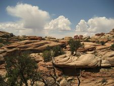 Canyonlands - The Needles Royalty Free Stock Images