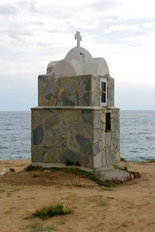 Free Little Church In Greece Royalty Free Stock Images - 3442779