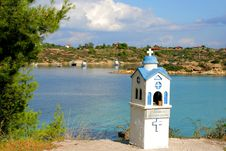 Free Little Church In Greece Royalty Free Stock Image - 3442926