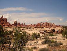 Free Canyonlands - The Needles Royalty Free Stock Photos - 3443108