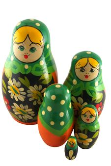 Matryoshka Dolls Stock Photo