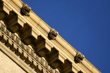 Ornate Roof Top Stock Images