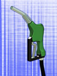 Free Gas Nozzle Royalty Free Stock Image - 3444186