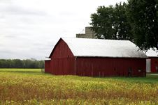 Rural Barn Tennessee Stock Photo