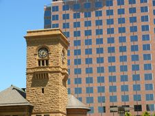 Free Old And New In San Jose Dwntwn Royalty Free Stock Photo - 3445025