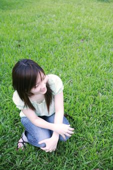 Free Asian Girl Looking To The Side Stock Images - 3445084