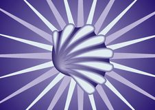 Free Blue Shell Royalty Free Stock Photography - 3445307