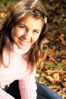 Free Autumn Portrait Stock Photo - 3446900
