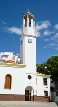 Free Church Tower Stock Image - 3447111