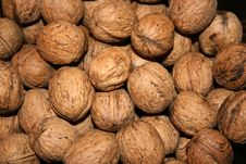 Free Walnuts In The Market Royalty Free Stock Images - 3447199
