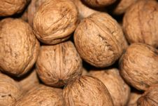 Free Walnuts In The Market Stock Images - 3447334