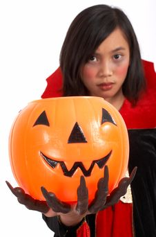 Scary Costume Royalty Free Stock Photo