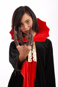 Free Scary Costume Royalty Free Stock Images - 3447649