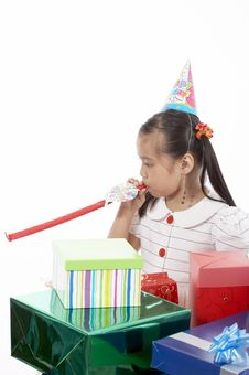Free Birthday Girl Royalty Free Stock Photography - 3447737
