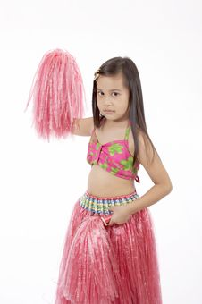 Free Hawaiian Costume Stock Photo - 3447830