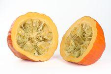 Free Halved Pumpkin Stock Photo - 3447910
