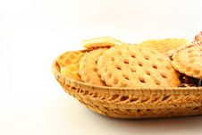 Free Container Of Cookies Stock Image - 3448241