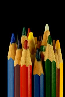 Free Color Pencils Stock Photography - 3448342