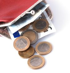 Free Old Wallet And Changes Stock Photo - 3448400