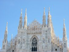Free Dome Milan Cathedral Stock Image - 3448491