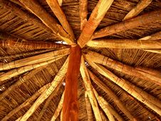 Free Rooftop Of An Indian Hut Stock Images - 3448874