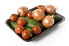 Free Tomatoes And Onion Royalty Free Stock Images - 3449199