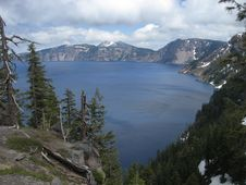 Free Crater Lake - Discovery Point Stock Photos - 3449733