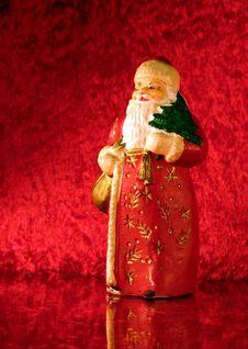 Free Old Santa Royalty Free Stock Image - 3449766
