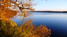 Free River Daugava In Autumn Royalty Free Stock Photography - 3449907