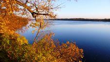 River Daugava In Autumn Royalty Free Stock Photography
