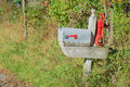Free Country Mailbox Royalty Free Stock Photos - 34407538