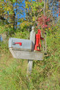 Free Country Mailbox Stock Images - 34407564