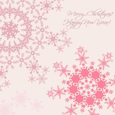 Free Christmas And New Year Card Royalty Free Stock Photography - 34403367
